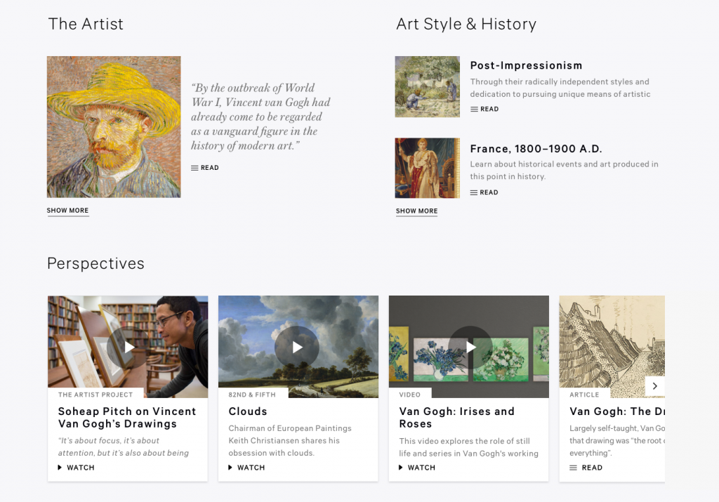 Figure 15: Related artworks and stories