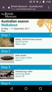 Screenshot of the BYOD Australia Trail tour