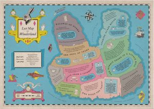 Inside of the Lost Map of Wonderland