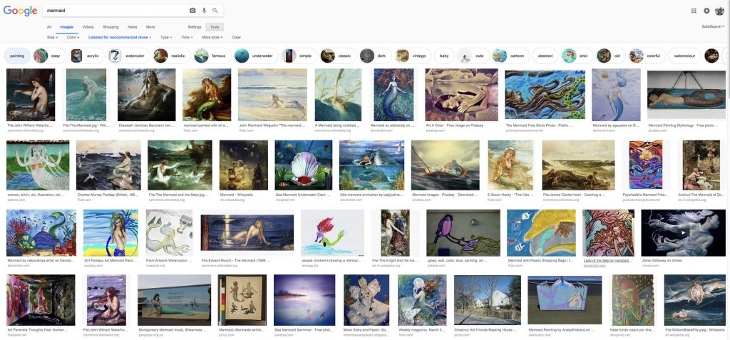 Google images for mermaid