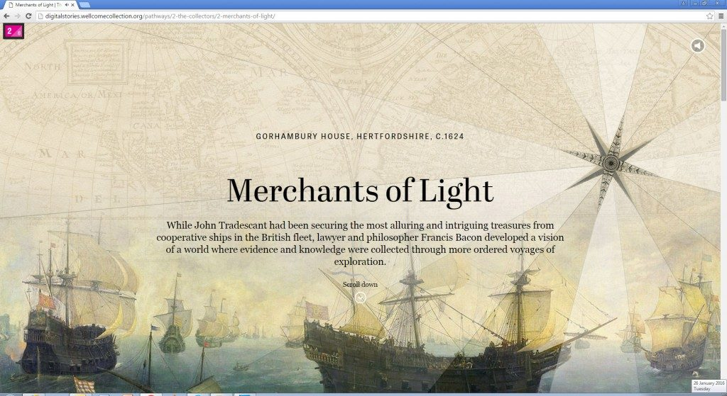 A graphic showing a screenshot with the words Merchants of Light.